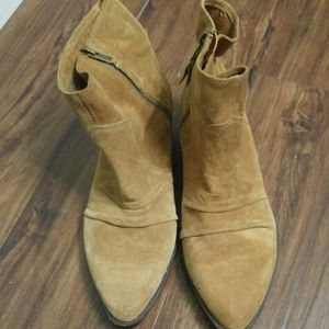 Suede Ankle Boots by Nine West Vintage America